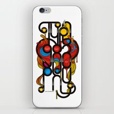 Love Typography iPhone & iPod Skin