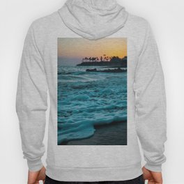 Wavy Waters In California In The Summer Hoody