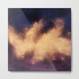 War Abstract Galaxy Nebula Space V9 Metal Print