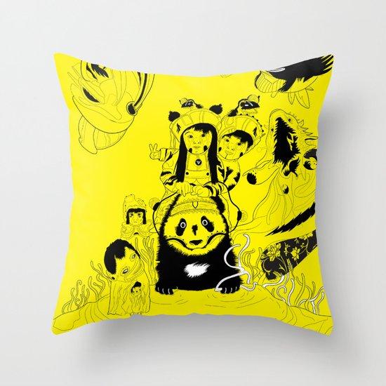 LAGORCA 01 Throw Pillow