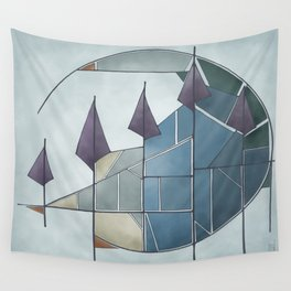 Get to the Point Wall Tapestry