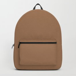 Tuscan tan - solid color Backpack
