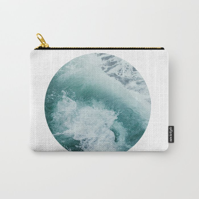 Circle Sea Carry-All Pouch