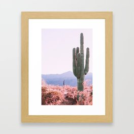 Warm Desert Framed Art Print