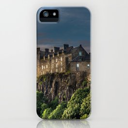 Storm Clouds over Stirling Castle iPhone Case
