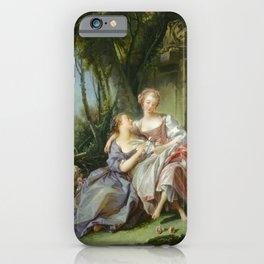 """François Boucher """"The love letter"""" iPhone Case"""