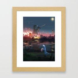 Parallelism I Framed Art Print