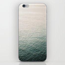 "Coastal beach photography ""Free as the ocean"" | Modern wall Art Sea Ibiza iPhone Skin"
