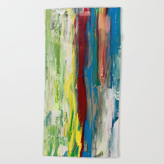 Abstract Painting #3 Beach Towel