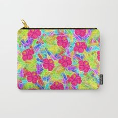 Hawaiian Pink Flowers Carry-All Pouch