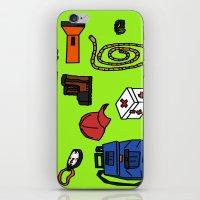 hiking iPhone & iPod Skins featuring Hiking by Jonny Penn