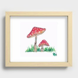 two Recessed Framed Print