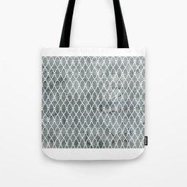 Smoke Trellis Pattern Tote Bag