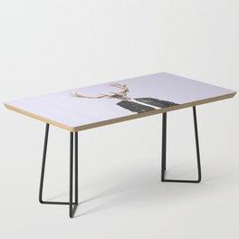 Fashionable Deer Illustration Coffee Table