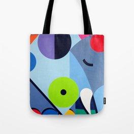 Elephant - Paint Tote Bag