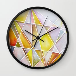 Shattered Light Wall Clock