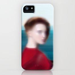 Bord de Mer II iPhone Case