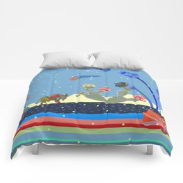 At night Comforters