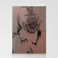 bane Stationery Cards featuring Bane, by Laura Hodgson