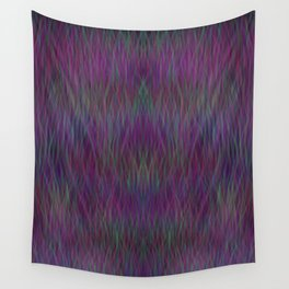 Multi- coloured Grass Design Wall Tapestry