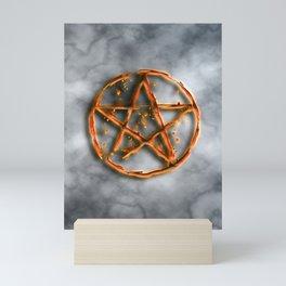 Supernatural devil's trap Mini Art Print