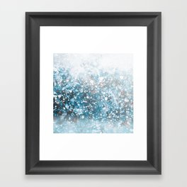 Snowflakes Framed Art Print