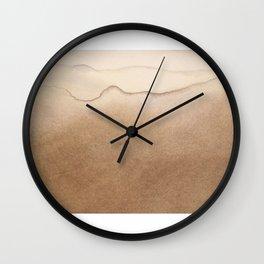 Robinson Crusoe wave Wall Clock