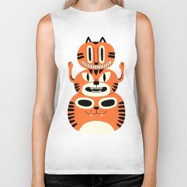 Totem Cat Biker Tank