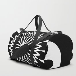 Black & White Decor Design Duffle Bag