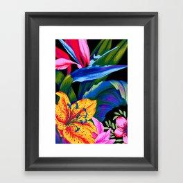 Let's Go Abstract Framed Art Print