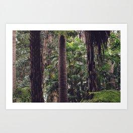 Urban Tropical Rainforest Art Print