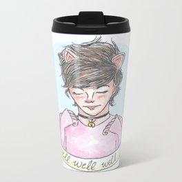 Kitten!Louis Metal Travel Mug
