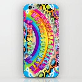 1997 Neon Rainbow Spirit Board iPhone Skin