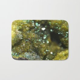 Geode Abstract Citrine Bath Mat