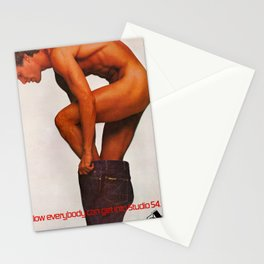 ...now everybody can get in Studio 54 Stationery Cards