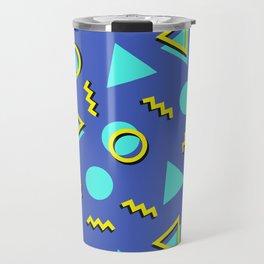 Memphis pattern 63 Travel Mug