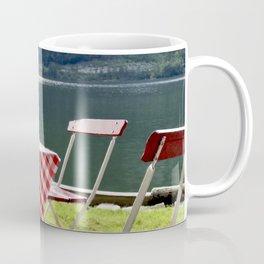 Summer at Hallstatt Lake Coffee Mug