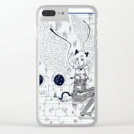 Quen Laida character design Clear iPhone Case