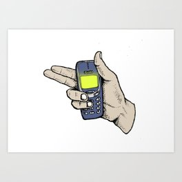 3310 Art Print
