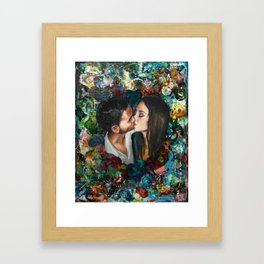 Lo que Pintaste Framed Art Print