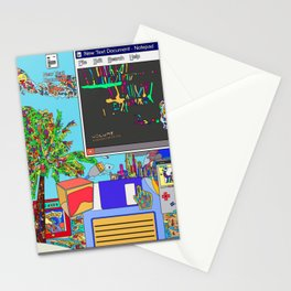 Vaporwave Stationery Cards