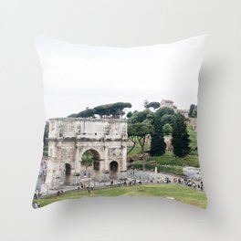 rome, iv Throw Pillow