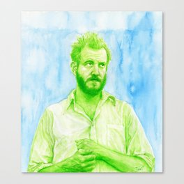 "Justin Vernon ""Bon Iver"" Canvas Print"