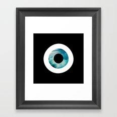 Air Evil Eye Framed Art Print