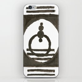 Parade of the planets iPhone Skin