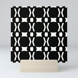 Black and White Mini Art Print