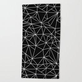Geometric Jane 2 Beach Towel