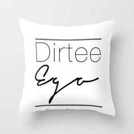 Dirt. Throw Pillow