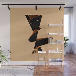 Dancing abstract figure Wall Mural