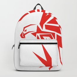 Abstract Red Eagle Backpack